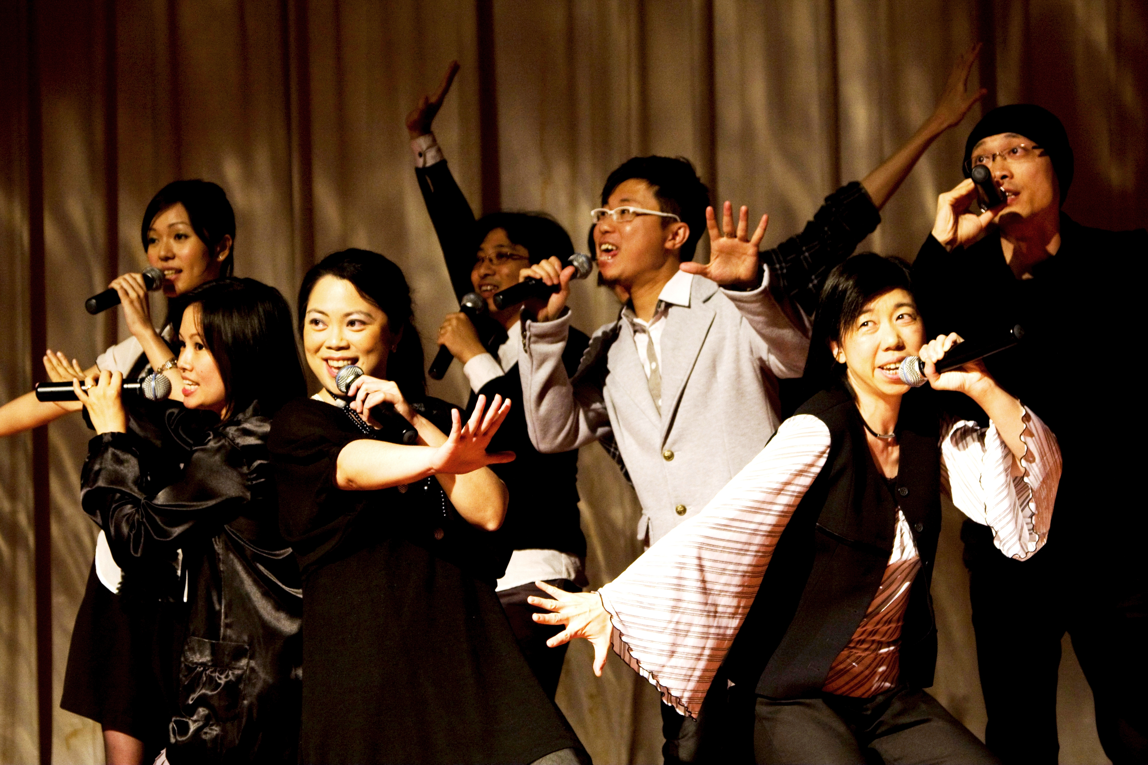The Gay Singers, a well-established a cappella group in Hong Kong, ...